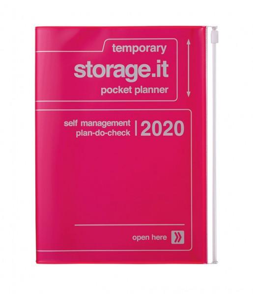 Mark's Kalender storage.it 2020 neon-pink
