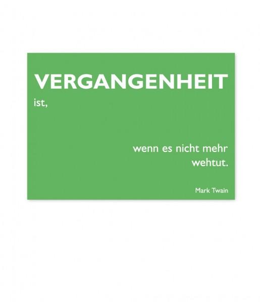 Postkarte Twain Vergangenheit | CEDON