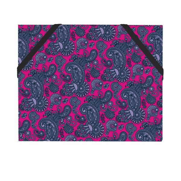 Mäppchen Paisley pink