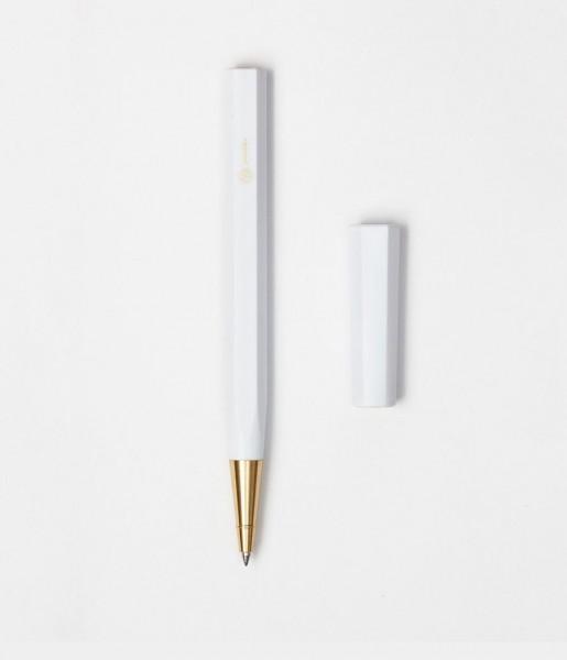 Kugelschreiber Resin weiß | ystudio