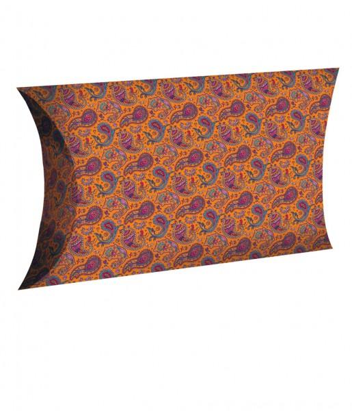 Geschenkbox M Paisley orange | CEDON