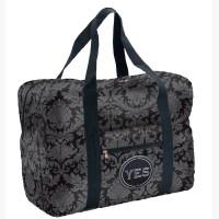 Easy Travel Bag Hofdamast mit Initialen-Patch