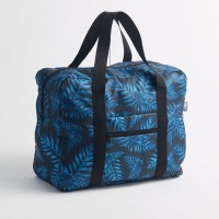 CEDON Easy Travel Bag Philodendron Blue