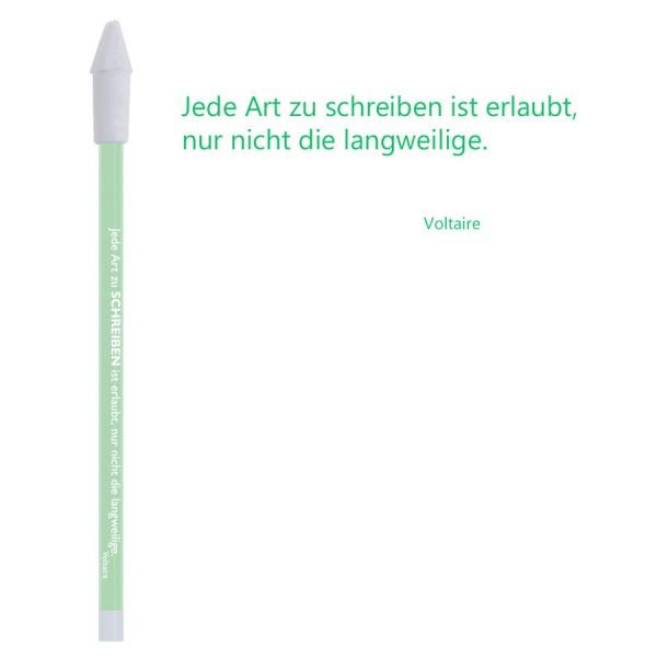 CEDON Bleistift gruen - Voltaire Schreiben