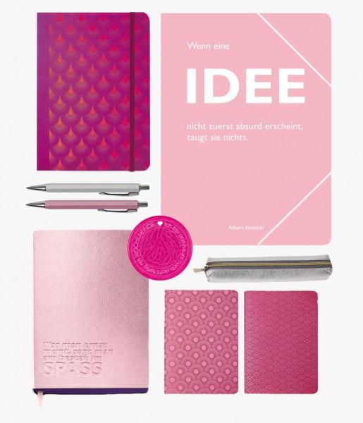 Schreibset Metallic rosa | CEDON