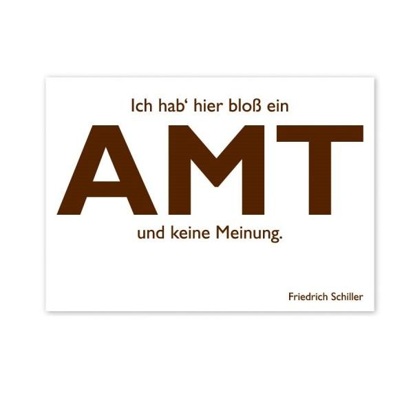 CEDON Postkarte Schiller Amt