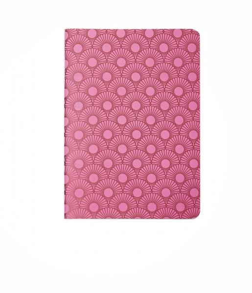 Heft Metallic Daisy pink DIN A6 | CEDON