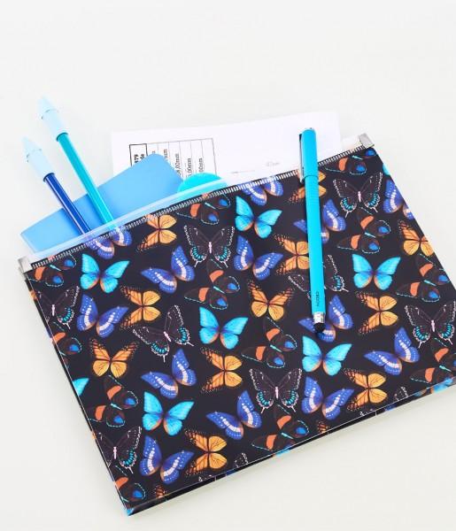 Zippertasche Schmetterlinge | CEDON