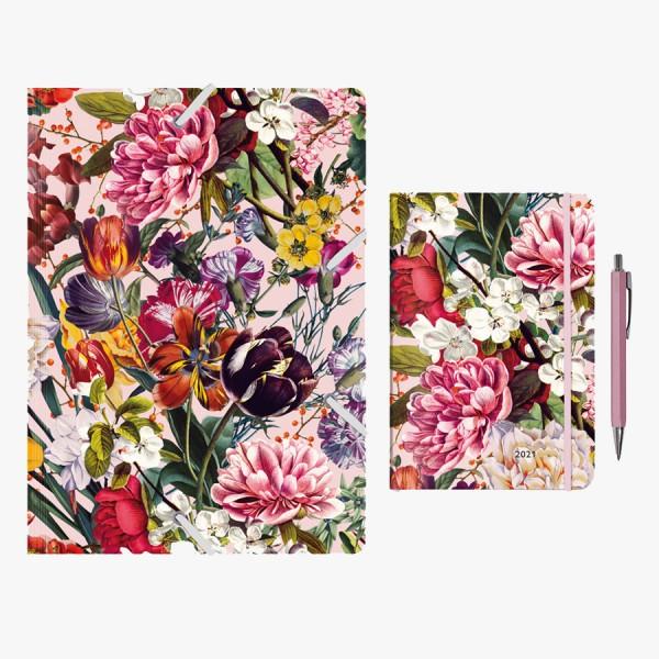 Kalenderset Blumengruß