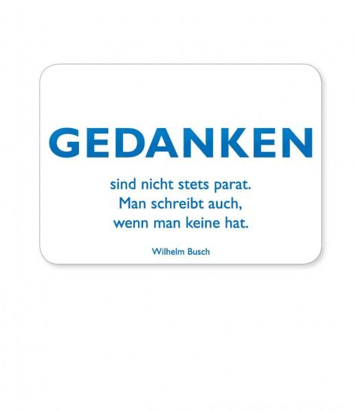 Postkarte Busch Gedanken | CEDON