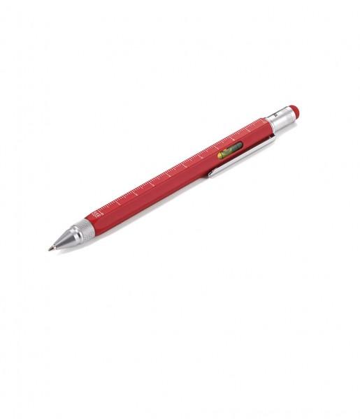 TROIKA Kugelschreiber Construction rot/silber