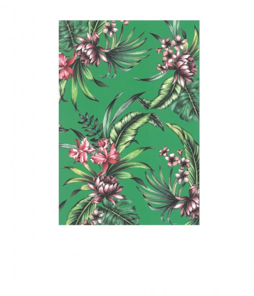 Postkarte Tropical green