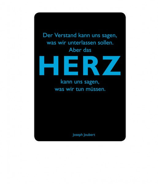 Postkarte Joubert Herz | CEDON