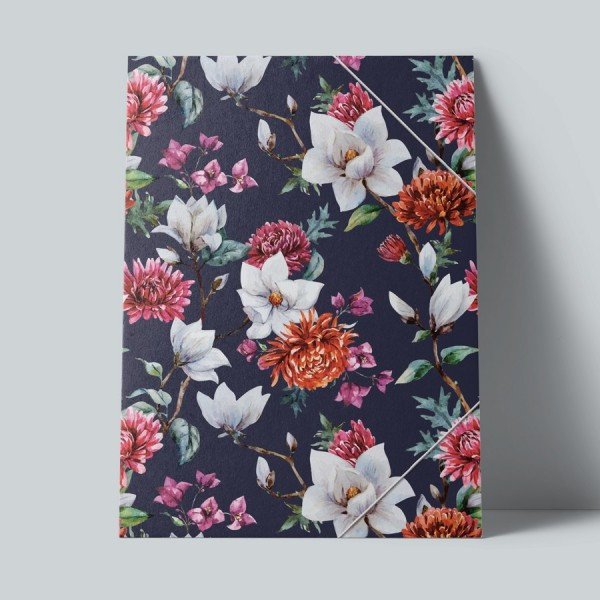 Sammelmappe Chrysantheme