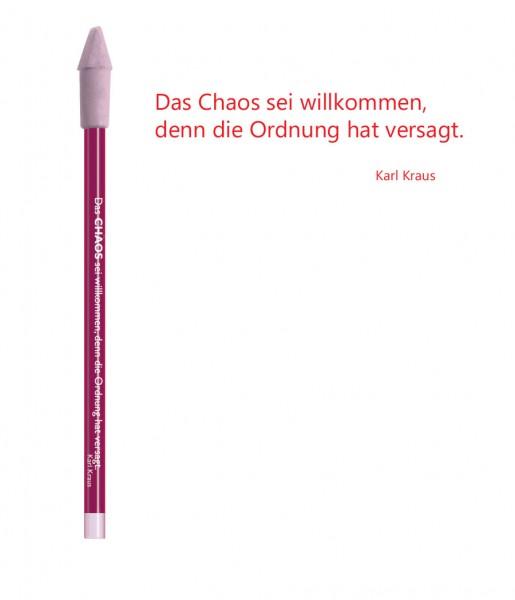 Bleistift rot Chaos | CEDON