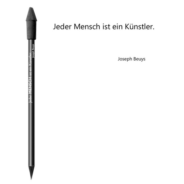 CEDON Bleistift schwarz - Joseph Beuys Mensch