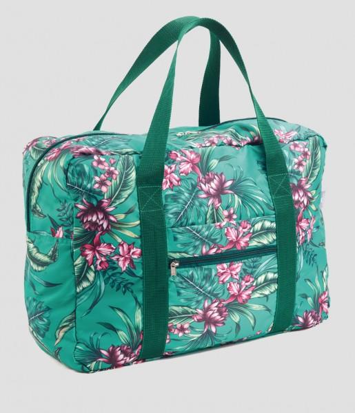 Easy Travel Bag Tropical green