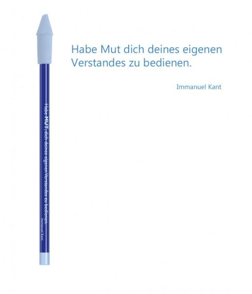Bleistift blau Mut | CEDON