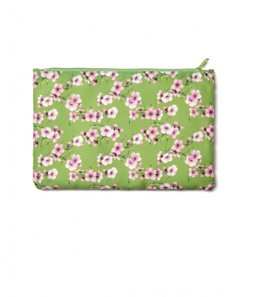 Easy Zipper S Blüten grün | CEDON