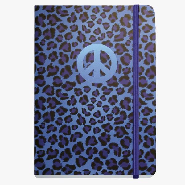 CEDON Notizbuch DIN A5 Peace blue