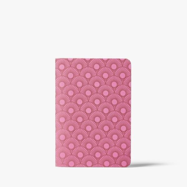 CEDON Heft A6 Metallic Daisy pink