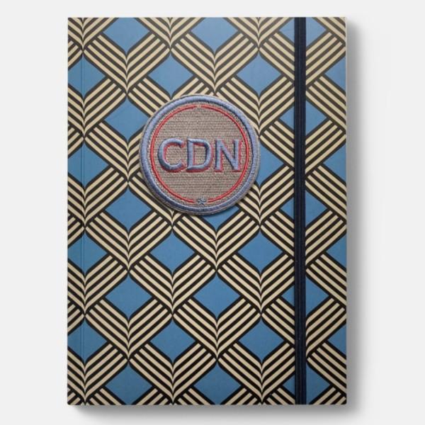 CEDON | Notizbuch Rhombus mit Initialen-Label