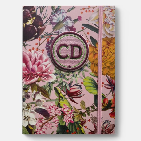 CEDON | Notizbuch Blumengruß mit Initialen-Label