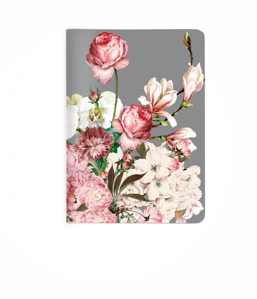 Heft Bouquet rose DIN A6