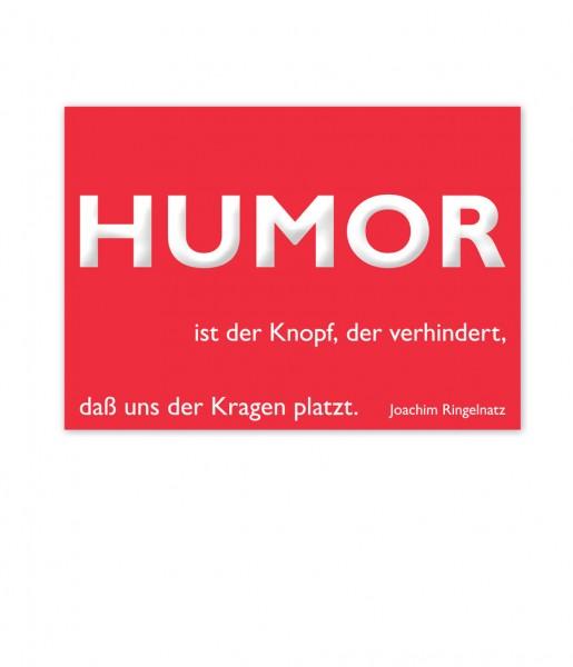 Postkarte Ringelnatz Humor | CEDON