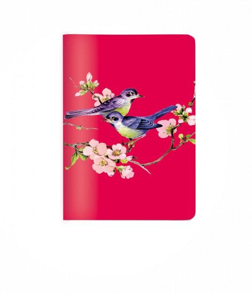 Heft Vögel rot DIN A6 | CEDON