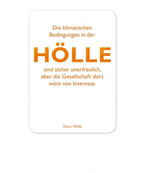 CEDON Postkarte Wilde, Hölle