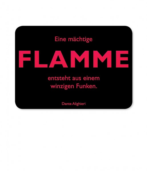 CEDON Postkarte Dante, Flamme