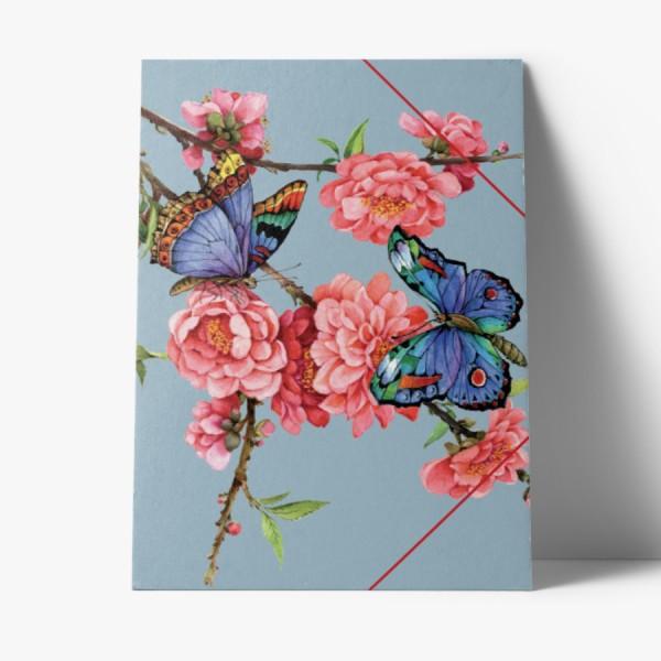 Sammelmappe Mandelblüte