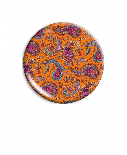 Klappspiegel Paisley orange | CEDON