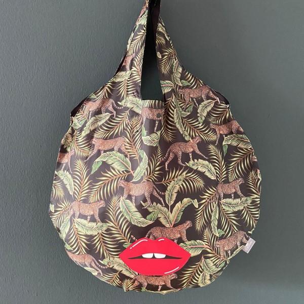 Easy Bag Round XL Serengeti mit Kuss