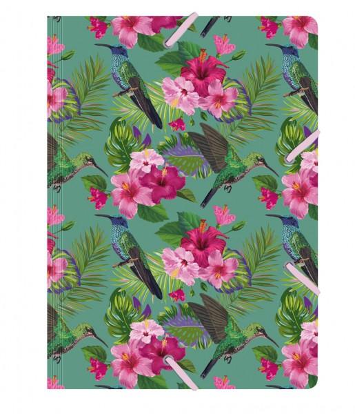 Sammelmappe de Luxe Flower Bird | CEDON