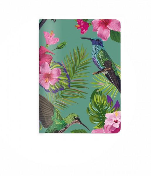 Heft Flower Bird DIN A6