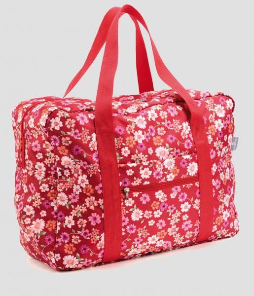 Easy Travel Bag Blüten rot