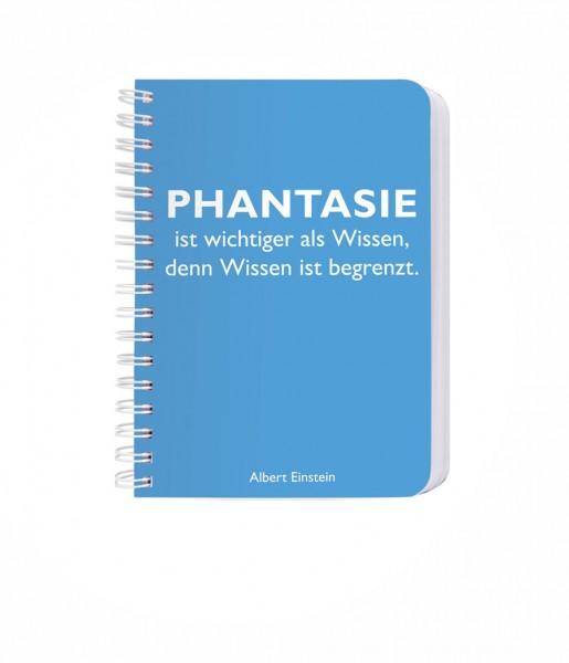 CEDON Ringbuch DIN A6, Einstein, Phantasie