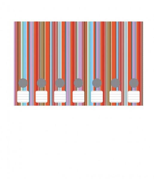 Ordnerrücken Farbstreifen rot | CEDON