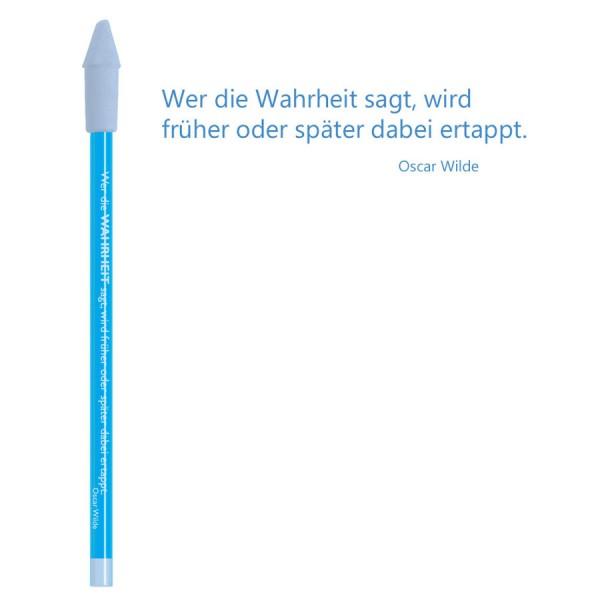 CEDON Bleistift blau - Oscar Wilde Wahrheit
