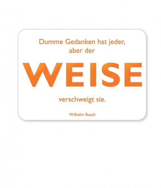Postkarte Busch Weise | CEDON