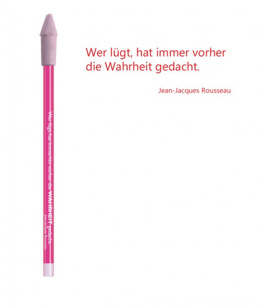 Bleistift rot Wahrheit | CEDON