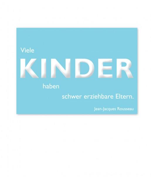 Postkarte Rousseau Kinder | CEDON