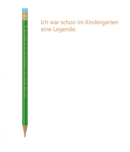 CEDON Bleistift Spruch Kindergarten