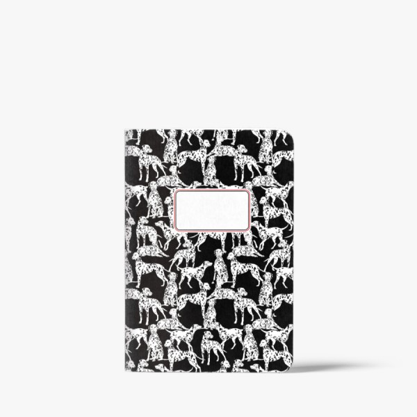 CEDON Heft Black and White Dogs DIN A5