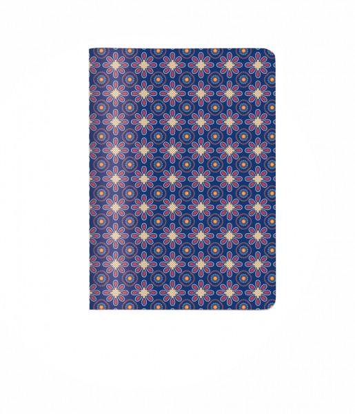 Heft Kachel blau DIN A6