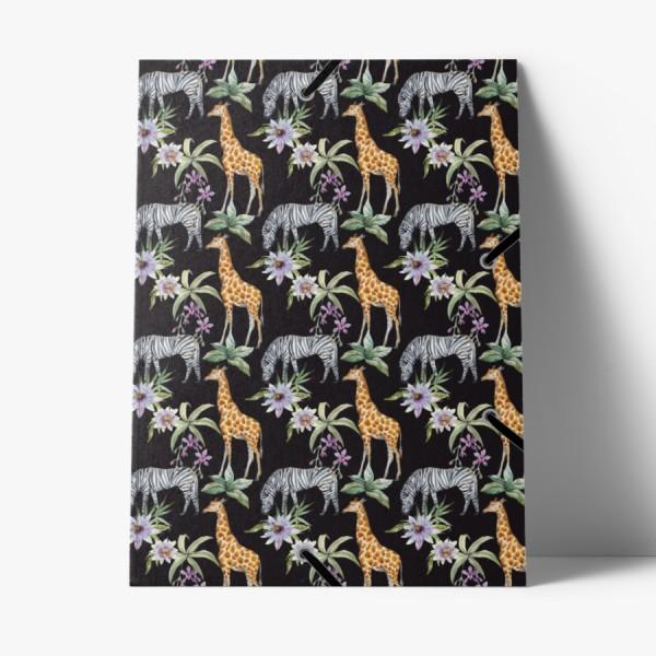 Sammelmappe de Luxe Giraffe