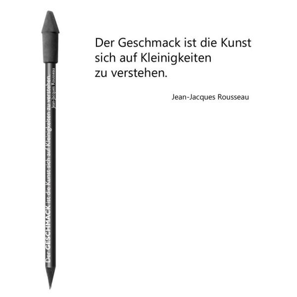 CEDON Bleistift schwarz - Jean-Jacques Rousseau Geschmack