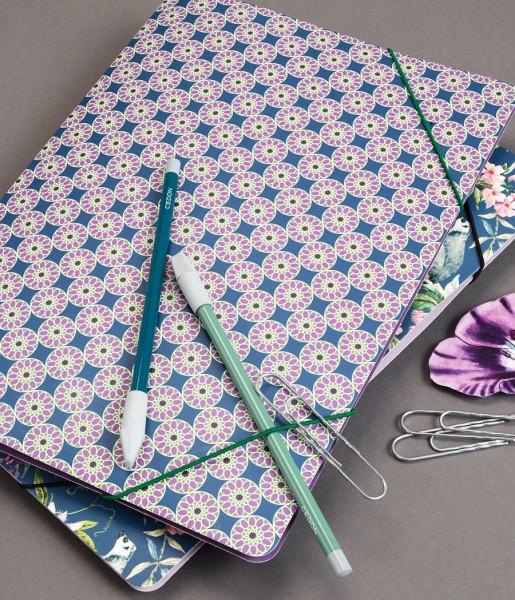 Sammelmappe Kachel Lavendel